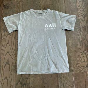 Alpha Delta Pi comfort colors T-shirt